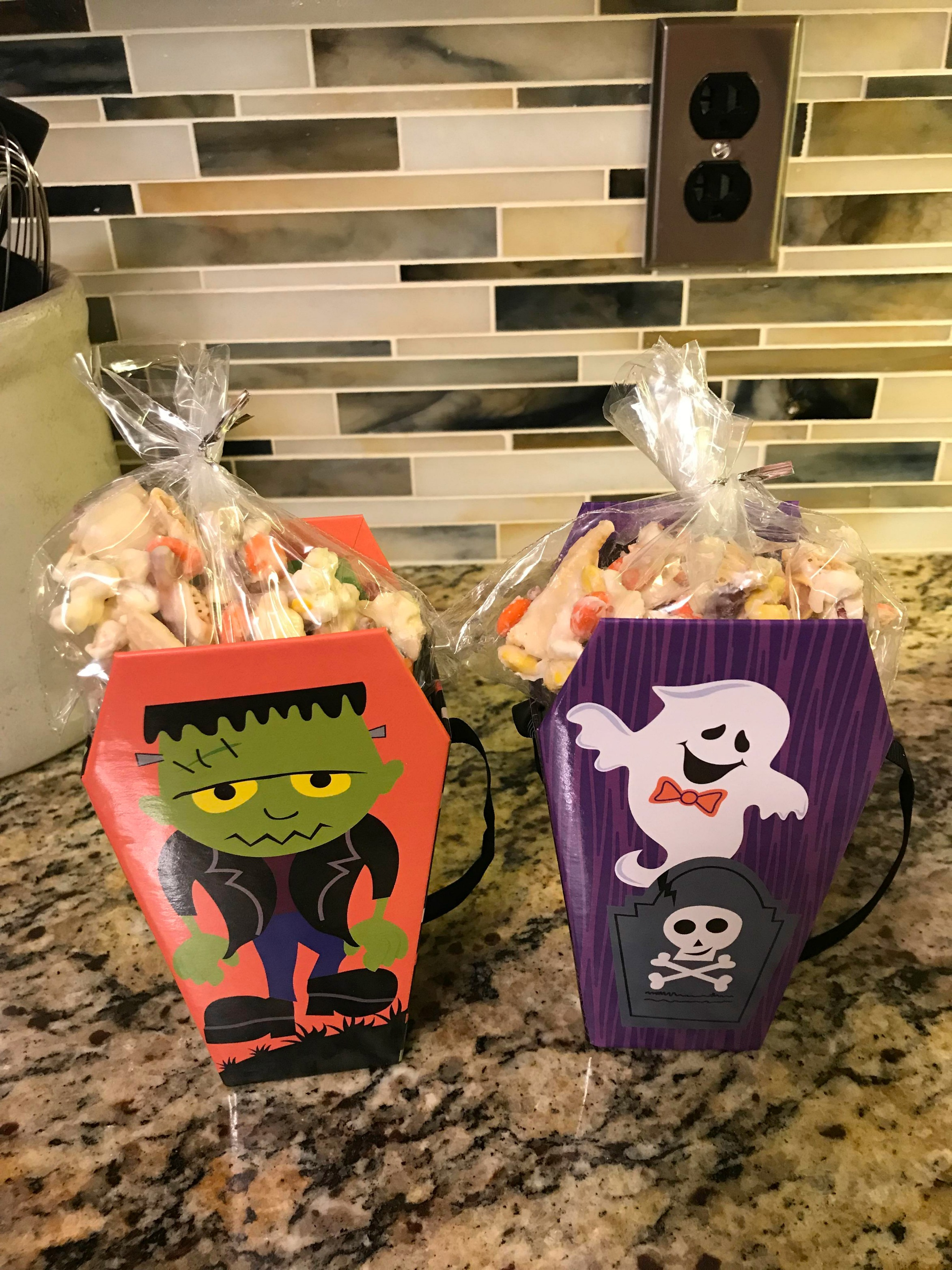 White Chocolate Halloween Munch