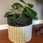 Easy Wicker Basket Makeover