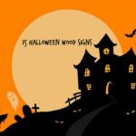 15 Halloween Wood Signs